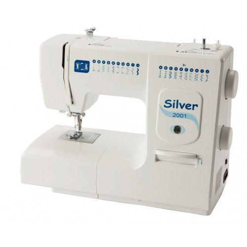 Silver 2001 Sewing Machine - Vera Fabrics