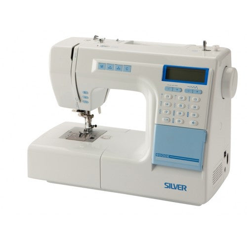 Silver 8000E Computerised Sewing Machine - Vera Fabrics