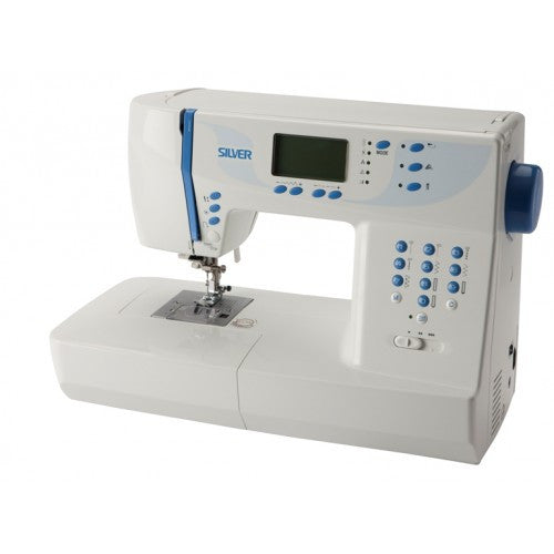 Silver 9000E Computerised Sewing Machine - Vera Fabrics