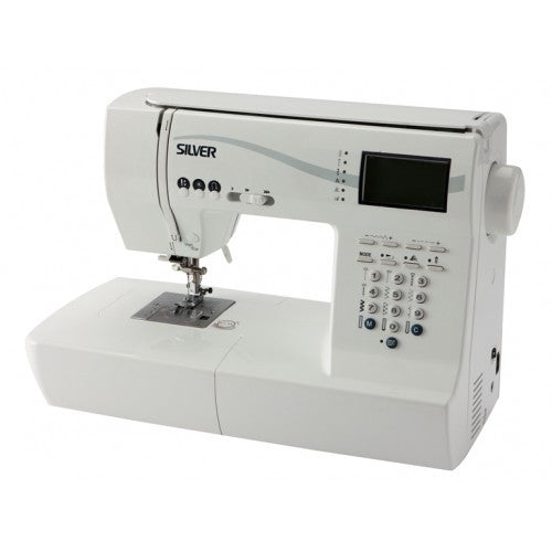Silver 9500E Computerised Sewing Machine - Vera Fabrics