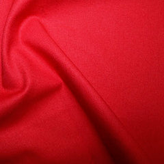 100% True Craft Cotton Fabric Rose & Hubble Sewing Craft Dressmaking - Scarlet Colour
