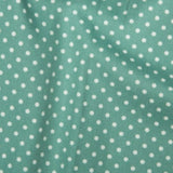 Ice Green 3mm Spotty Polka Dot 100% Cotton Poplin Fabric