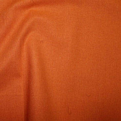 Rose & Hubble 100% True Craft Cotton - Solid Orange - by Metre