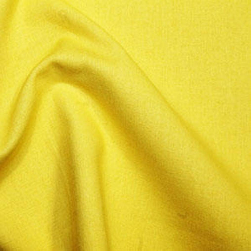 Rose & Hubble 100% True Craft Cotton - Solid Sunshine Yellow - by Metre