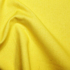 Rose & Hubble 100% True Craft Cotton - Solid Sunshine Yellow - by Fat Quarter