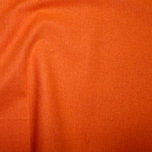 Rose & Hubble 100% True Craft Cotton - Solid Orange - by Fat Quarter