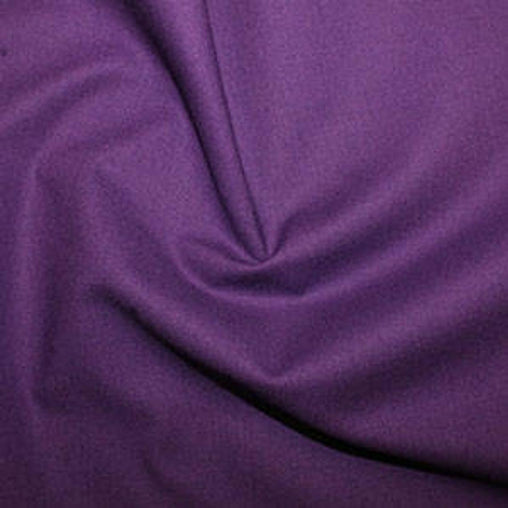Rose & Hubble 100% True Craft Cotton - Solid Imperial Purple - by Fat Quarter