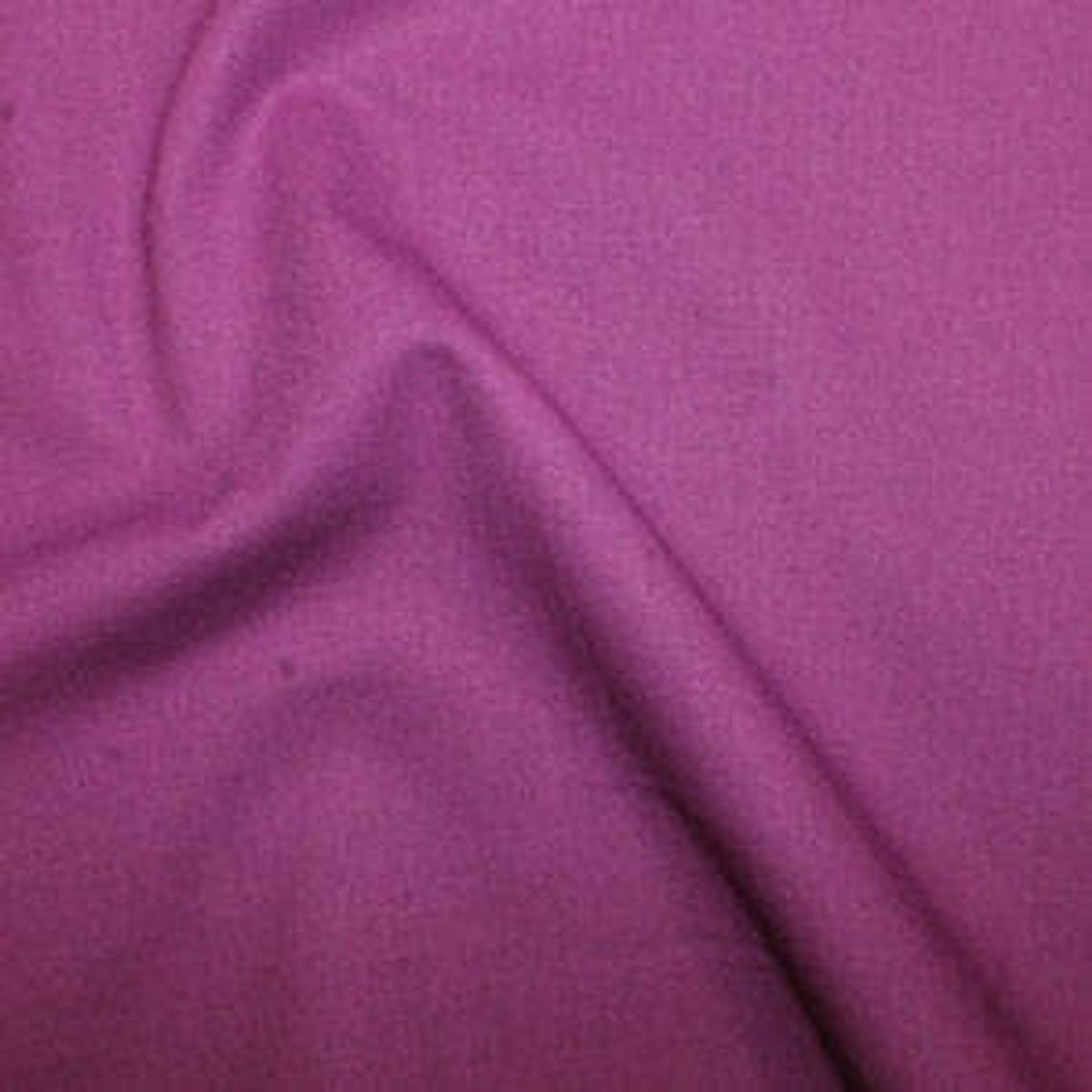 Rose & Hubble 100% True Craft Cotton - Solid Magenta - by Metre