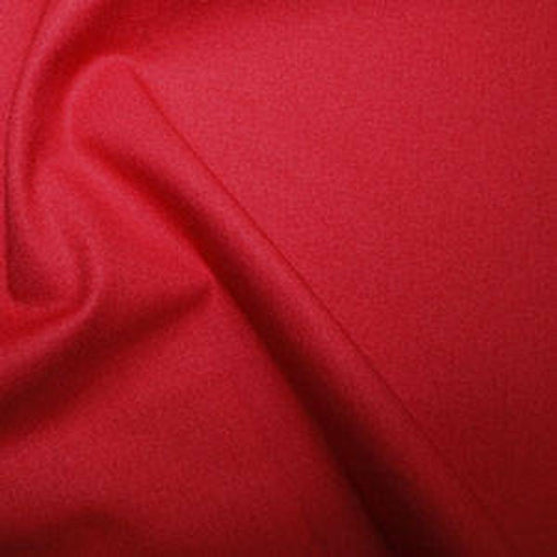 Rose & Hubble 100% True Craft Cotton - Solid Scarlet Red - by Metre
