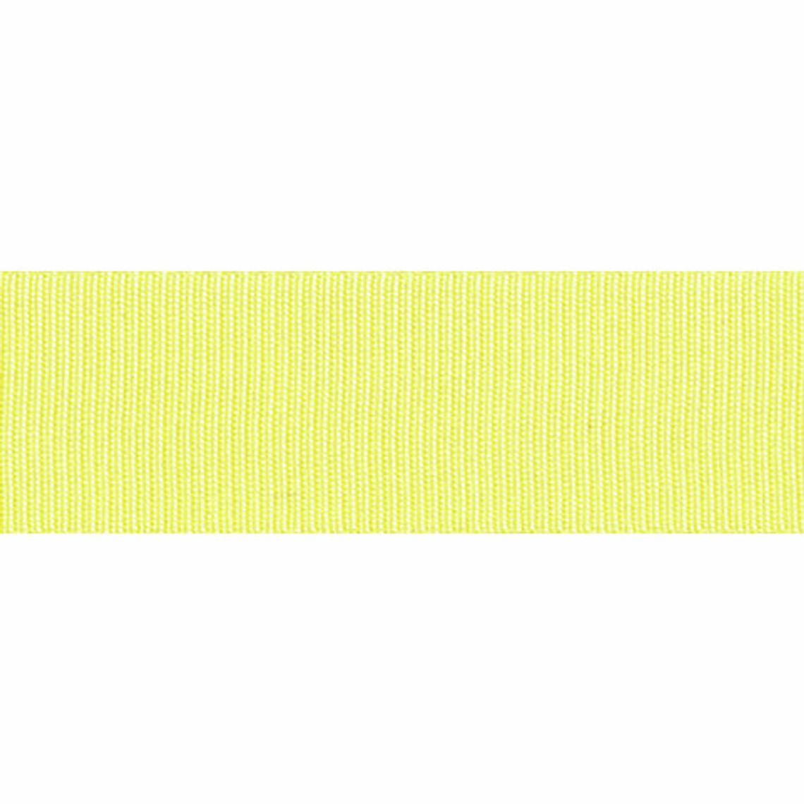 5 Metres Yellow Lemon- Grossgrain - 16mm Wide - Clothes, Funishing, Craft