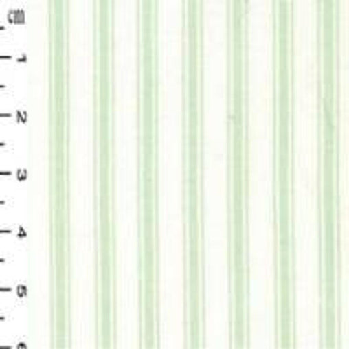 Excellent Quality Green Ticking Stripes Nautical 100% Cotton Poplin Fabric 130gsm Sewing Quilting Clothes Craft Home Decor