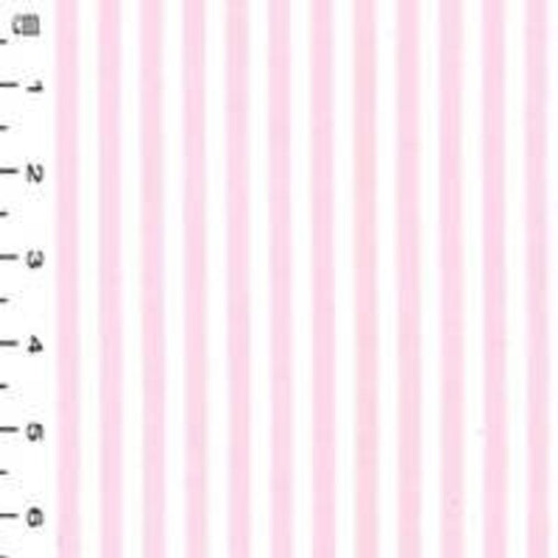 Excellent Quality Pink Stripes 100% Cotton Poplin Fabric 130gsm Sewing Quilting Baby Clothes Craft Home Decor