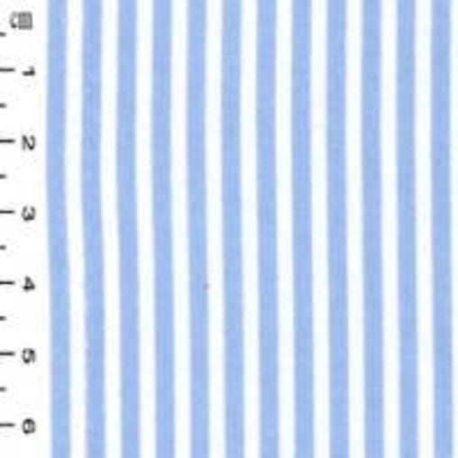 Excellent Quality Blue Stripes 100% Cotton Poplin Fabric 130gsm Sewing Quilting Baby Clothes Craft Home Decor