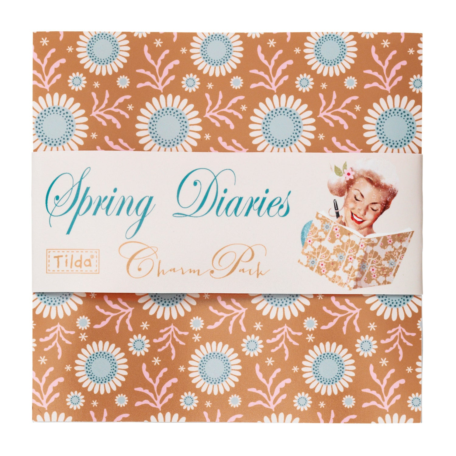 Spring Diaries - 42 Piece Charm Pack Bundle - Vera Fabrics