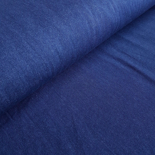 8oz Lightweight Pre-washed 100% Cotton Denim Fabric - Dark - Vera Fabrics