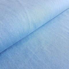 8oz Lightweight Pre-washed 100% Cotton Denim Fabric - Light - Vera Fabrics
