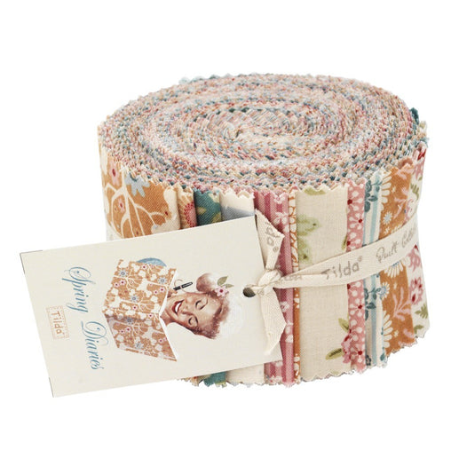 Spring Diaries - 24 Piece Jelly Roll Bundle - Vera Fabrics