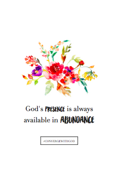 Converge with God Week 4 Prints