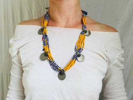 Kuchi Necklace. Multistrand.