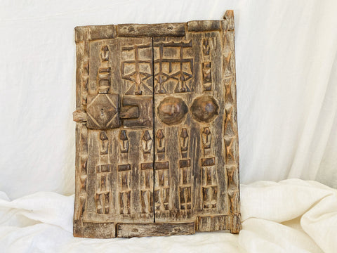 Dogon Granary Door. Mali. Antique African