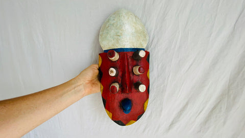 African Grebo Mask. Cote D'Ivoire. Ivory Coast
