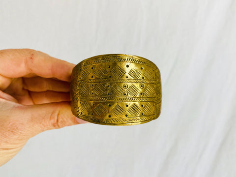 Vintage Tribal Bangle. Kuchi.