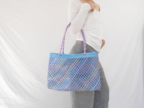 Woven Beach/Market Bag. Cute & Durable! Oaxaca, Mexico