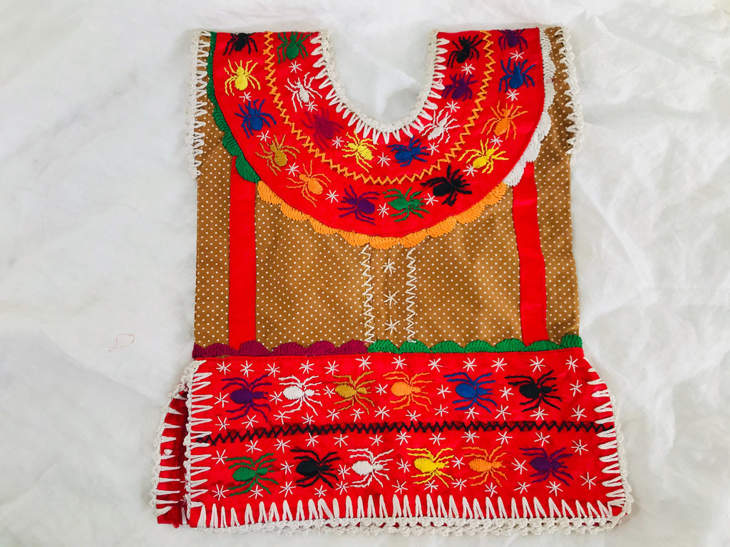 Child's Huipil Blouse. Pinotepa, Oaxaca. Toddler