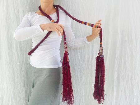 Huge Berber Wool Tassel. Door or Wall Decor.