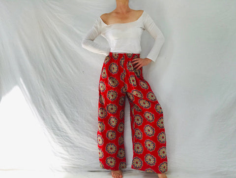 Vintage Thai Cotton Pants.