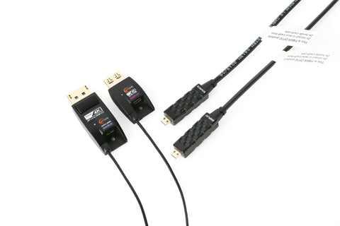 DHFC-200D; DisplayPort 1.2 to HDMI 2.0 Converting Active Optical Cable