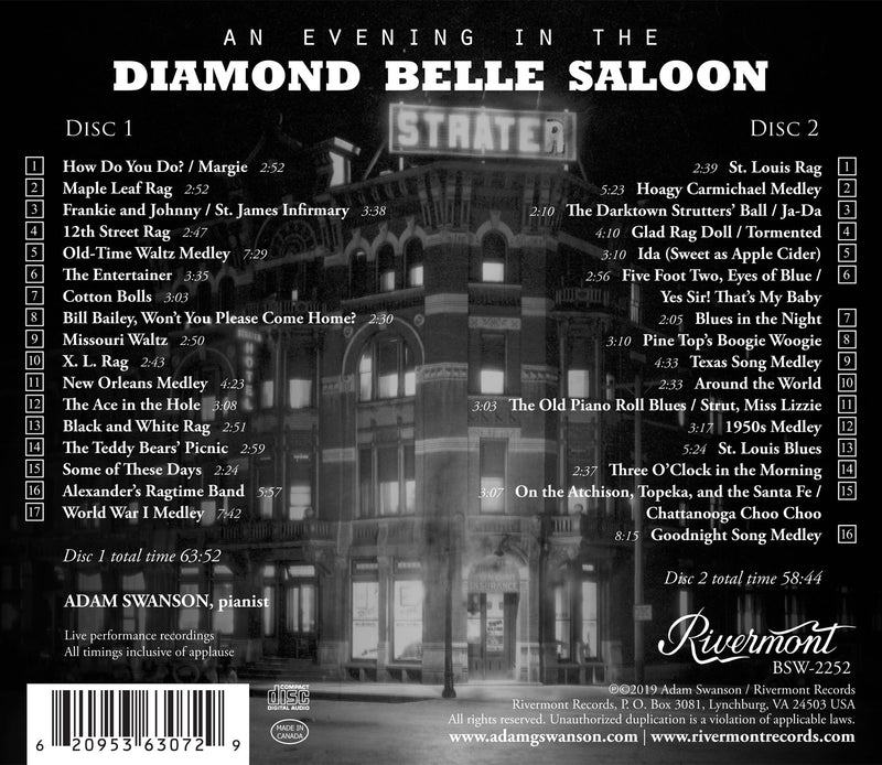 An Evening in the Diamond Belle Saloon