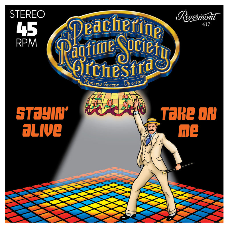 Stayin' Alive / Take on Me [45 rpm]