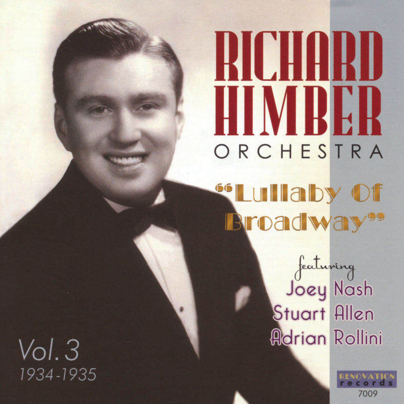 Richard Himber and His Orchestra, Volume 3 (1934-1935)