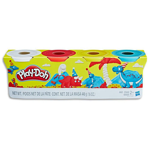Play-Doh Assorted 4oz Classic Colors
