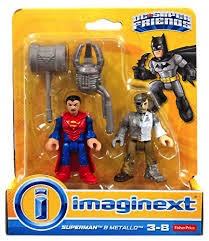 Fisher-Price Imaginext DC Super Friends Superman & Metallo