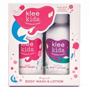 Klee Kids Body Wash and Body Lotion Duo