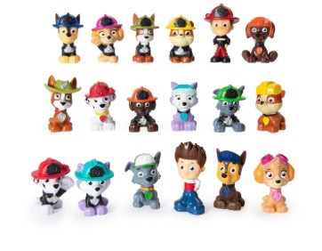 PAW Patrol Mini Rescue Collectible Blind Box Figure (Style May Vary) one per order
