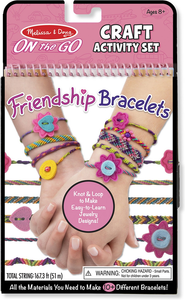 Melissa & Doug On the Go Friendship Bracelet Craft Set