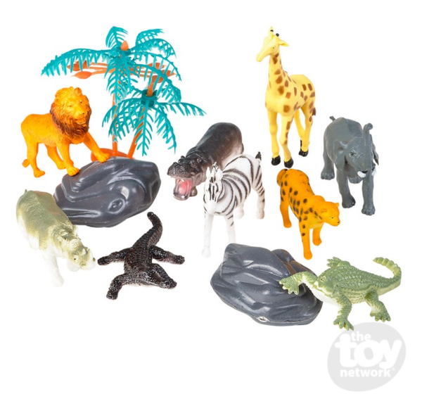 Toy Network 12 piece Safari Set