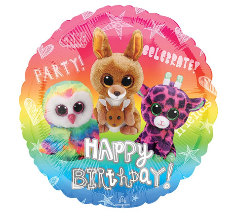 Happy Birthday Balloon (TY Beanie Boos)