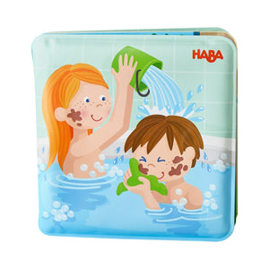 Haba Wash Away Bath Book - Paul and Pia