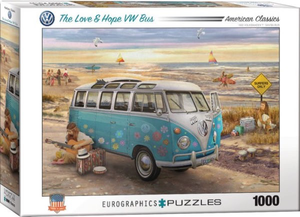 Eurographics The Love and Hope VW Bus 1000 piece puzzle