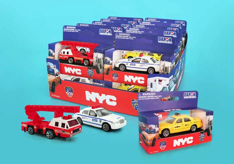 Daron Assorted NYC Vehicle (One per Order)