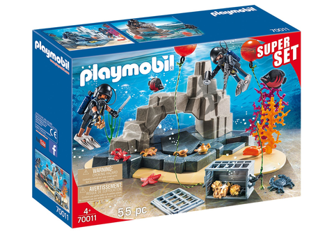 Playmobil 70011 Super Set Tactical Dive Unit