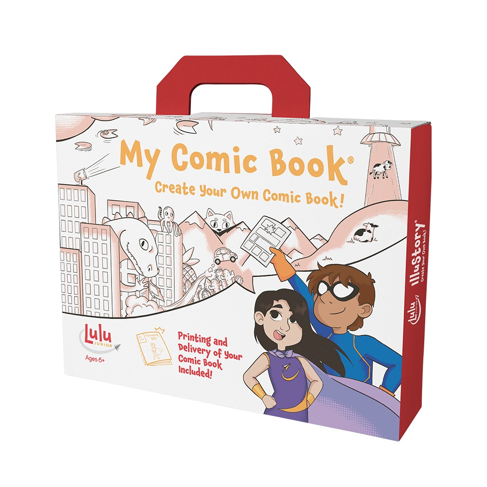 MY COMIC BOOK - CREATE YOUR OWN COMIC!