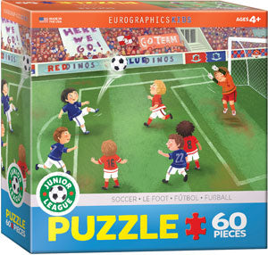 Junior League Soccer 60PC Puzzle