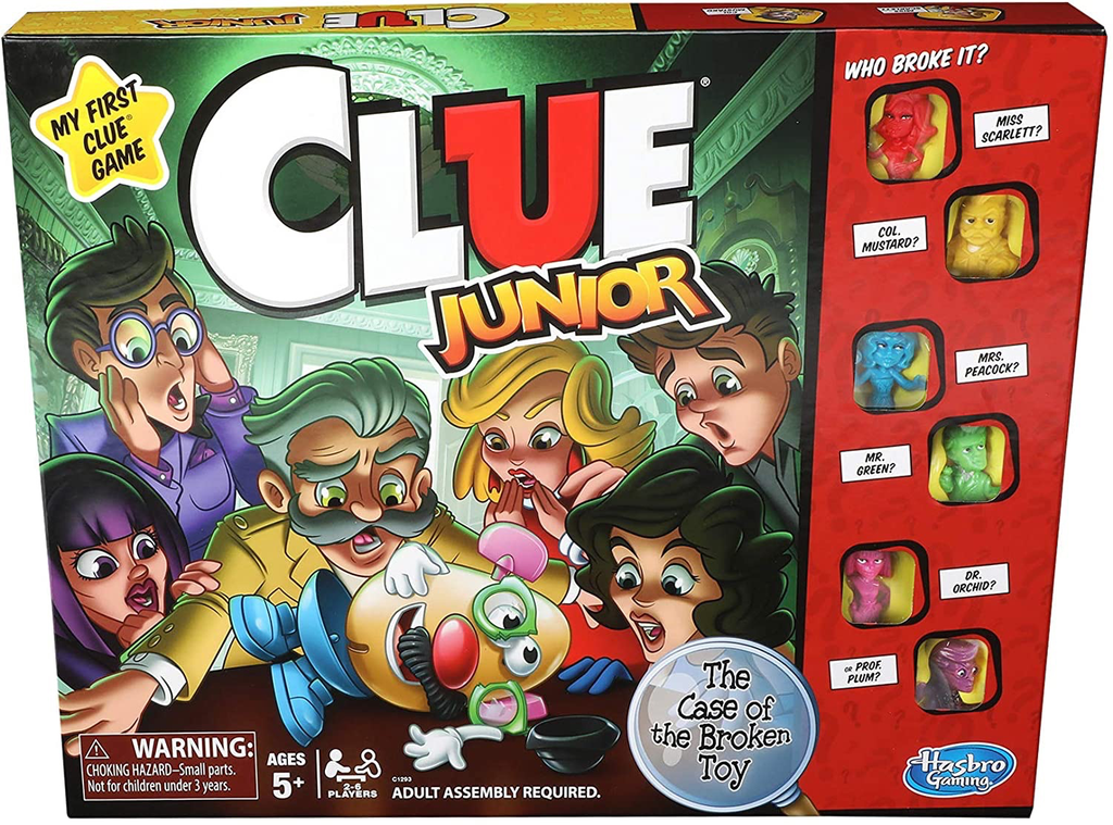 Clue Junior: The Case of the Broken Toy
