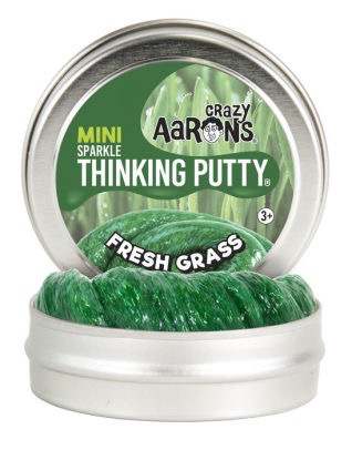 Crazy Aarons Thinking Putty 2 Inch Mini Tin - Fresh Grass