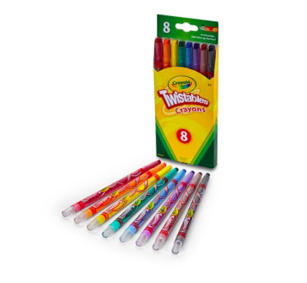 Crayola Twistables Crayons, 8/Pack